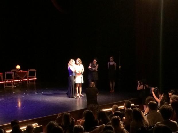 Prêmio Açorianos foi entregue em solenidade realizada em Porto Alegre (Foto: Bernardo Bortolotto/RBS TV)
