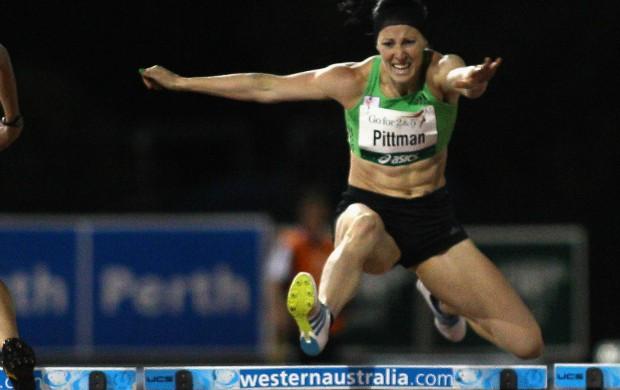 Jana Pittman austrália 400m com barreiras (Foto: Getty Images)