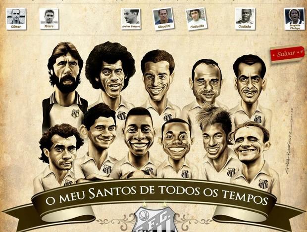 Poster Santos Ganso (Foto: Reprodução)