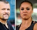 """Liddell questiona cabeça de Ronda e a compara a Aldo: """"Lutador de verdade"""""""