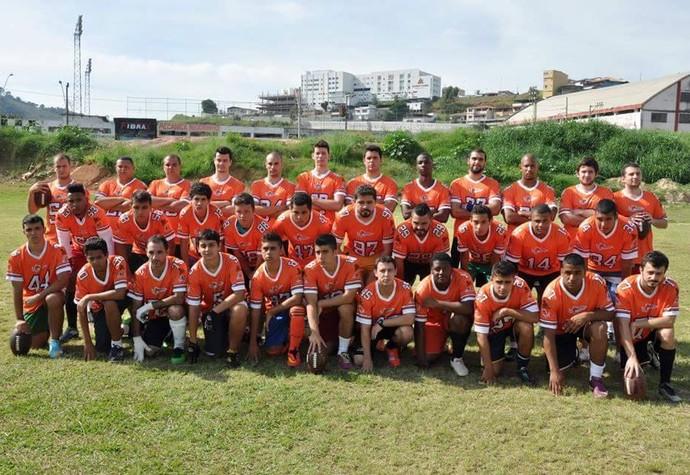 Mamutes Futebol Americano Juiz de Fora (Foto: JF Mamutes/Divulgação)