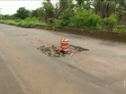 Motoristas enfrentam dificuldades ao trafegar pela MA-034 em Caxias