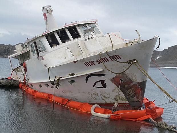 Mar sem fim (Foto: Eduardo Carvalho/G1)