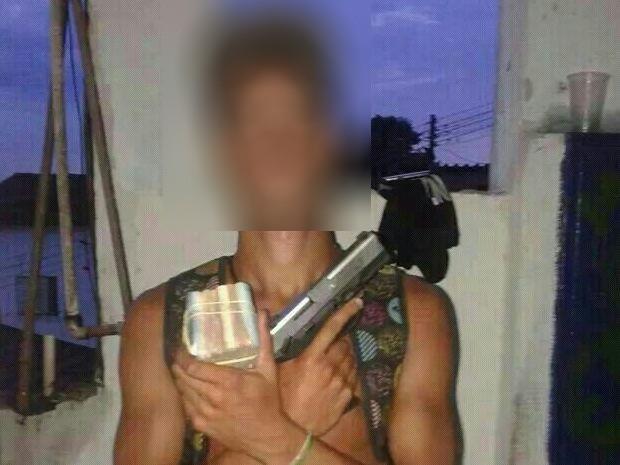 Imagens serão investigadas pela polícia em Santos, SP (Foto: G1)