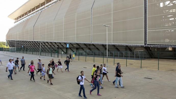 Arena Pantanal, escola (Foto: Junior Silgueiro/SeducMT)