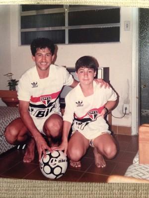 Osorio camisa São Paulo (Foto: Reprodução)
