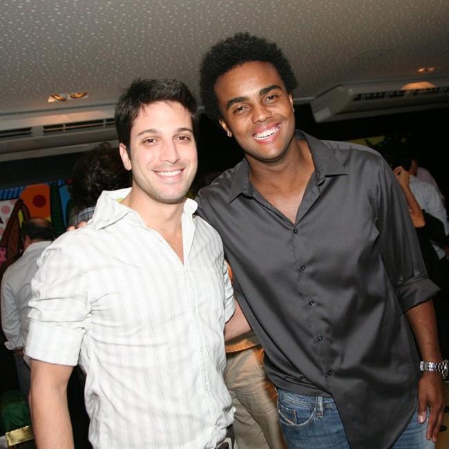 Marco Antonio Gimenez e Jorge de Sá (Foto: André Muzell/AgNews)