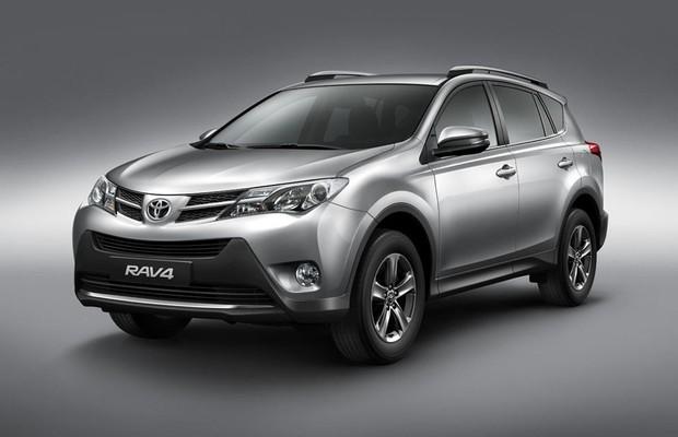 Toyota RAV4 2015 (Foto: Divulgação)