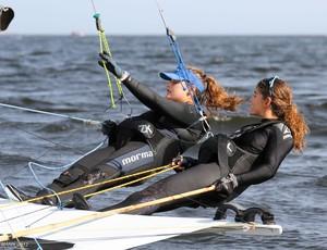 Martine Grael e Kahena Kunze velejadoras (Foto: Fred Hoffmann/Divulgação)