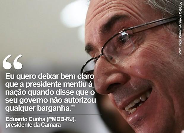 o presidente da Câmara, Eduardo Cunha, em imagem de arquivo (Foto: Jorge William/Agência O Globo)