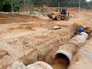 Obras começaram dois anos e sete meses após a tragédia. (Foto: Divulgação/Prefeitura de Teresópolis)
