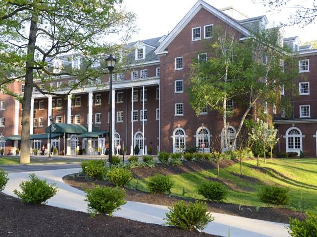 O hotel Gideon, onde funcionará o Divorce Hotel nos EUA (Foto: Divulgação/WWW.DIVORCEHOTEL.COM)