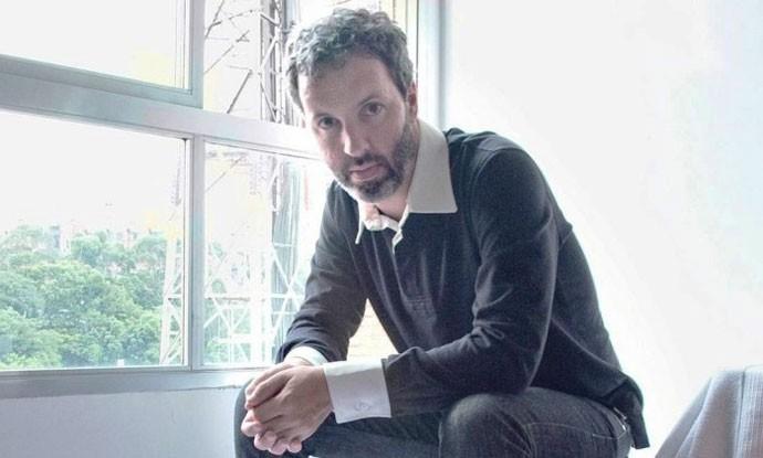 O escritor Michel Laub