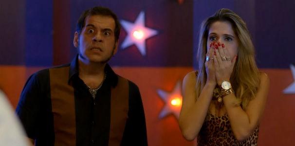 Uma gravidez promete muita loucura no penúltimo episódio de Chapa Quente  (Foto: Reprodução/ Rede Globo)
