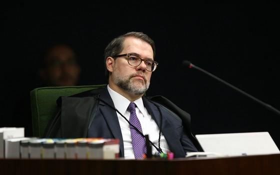 Ministro Dias Toffoli durante sessão da 2ª turma do STF (Foto: Rosinei Coutinho/SCO/STF)