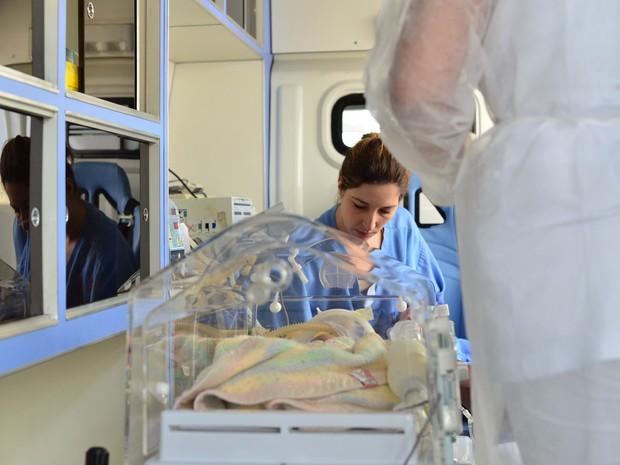 Bebê foi transferido na manhã desta segunda para um hospital de São Paulo, mas faleceu na tarde do mesmo dia. (Foto: Claudio Capucho/PMSJC)