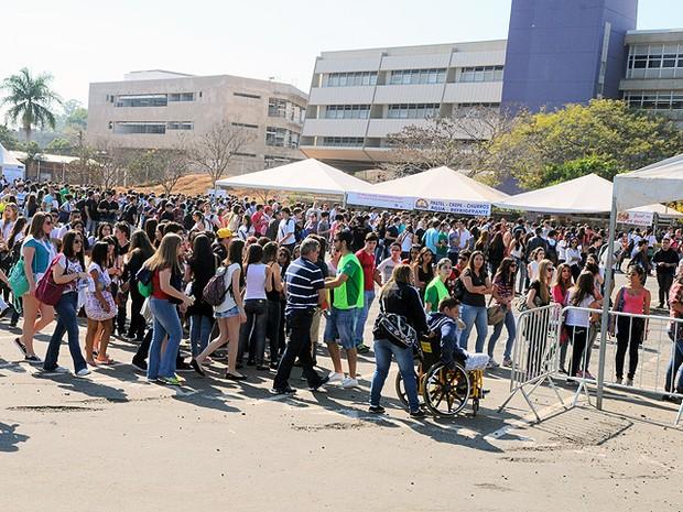 Evento da Unicamp recebeu 50 mil visitantes em Campinas, SP (Foto: Antoninho Perri / Ascom / Unicamp)