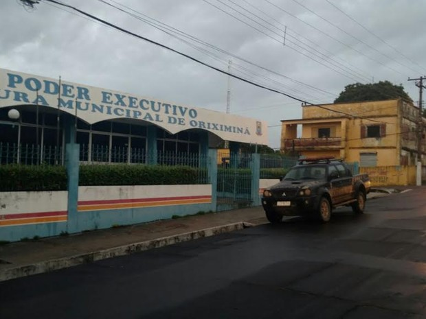 Prefeitura de oriximiná  (Foto: Junior Canto )