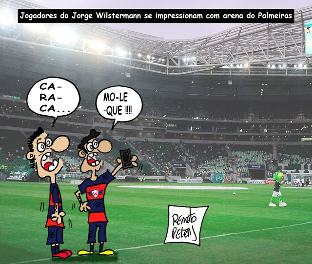 BOquiabertos- charge Peters