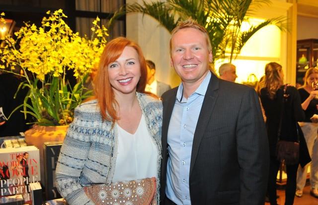 Jennifer Evans e Ian Douglas (Foto: Diego Guerra)