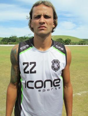 Pepeta, atacante do Rio Branco-ES (Foto: Deysiane Gagno/Rio Branco AC)