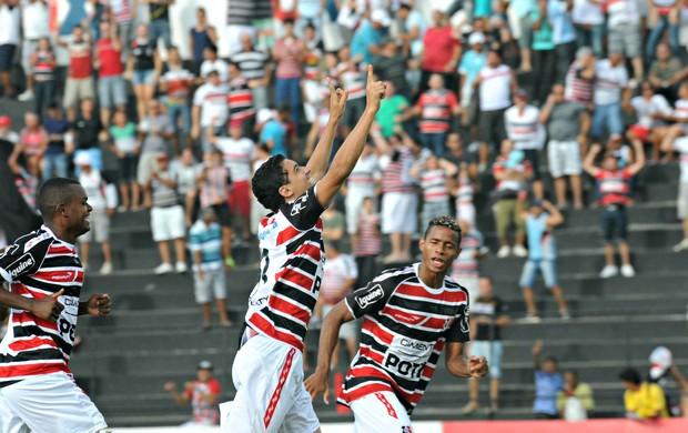 Santa Cruz x Bahia (Foto: Aldo Carneiro/Pernambuco Press)