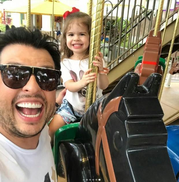 Wellington Muniz e Valentina (Foto: Reprodução/Instagram)