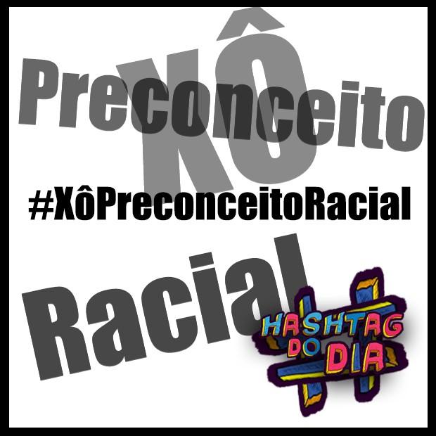 #HashtagDoDia: Xô Preconceito Racial (Foto: Malhação / TV Globo)