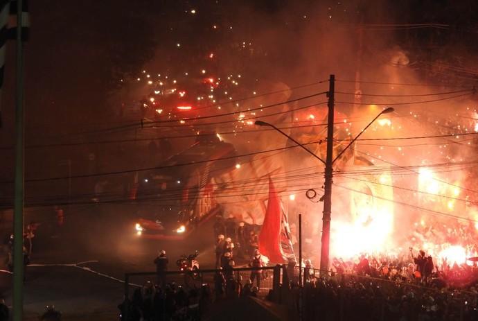 São Paulo x Toluca Morumbi (Foto: Marcelo Hazan)
