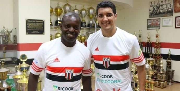Zé Roberto e Luciano Sorriso, reforços do Botafogo-SP (Foto: João Valdevite/Agência Botafogo)