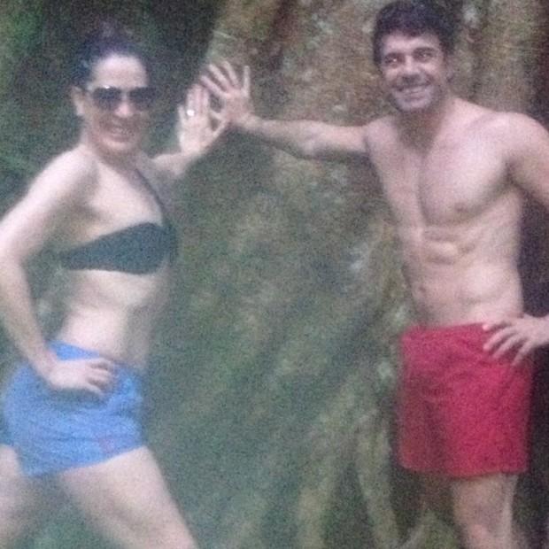 Claudia Raia com o namorado, Jarbas Homem de Mello (Foto: Instagram/ Reprodução)