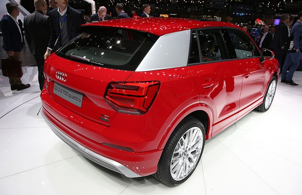 Audi Q2 no Salão de Genebra 2016 (Foto: Newspress)