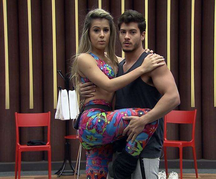 Arthur Aguiar e Mayara Araújo (Foto: Gshow)