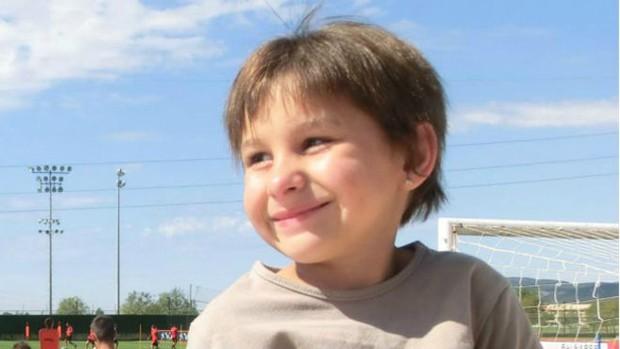 Segundo o pai, Nadia Nerea sempre acorda sorrindo, quase nunca se aborrece (Foto:  Associação Nadia Nerea/BBC)
