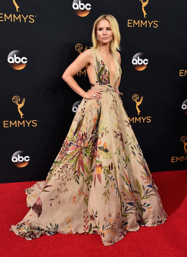 Kristen Bell de Zuhair Murad Couture (Foto: Getty Images)