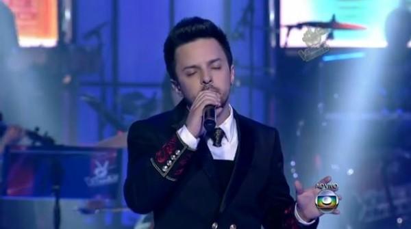 Rubens Daniel é catarinense e está na Semifinal do The Voice Brasil (Foto: Reprodução/TV Globo)