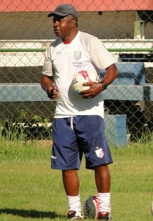 Andrade, técnico do São João da Barra (Foto: Fabio Menezes-ASCOM ECSJB)