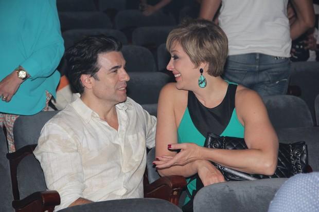 Claudia Raia e Jarbas Homem de Mello (Foto: Marcello Sá Barretto/AgNews)