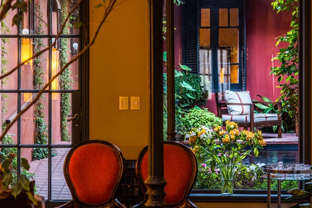 Hotel de Coppola em Buenos Aires é coisa de cinema (Foto: Roberto Rosa)