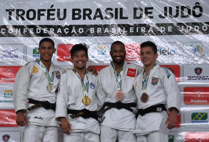 Charles Chibana Troféu Brasil de Judô 2015 (Foto: Divulgação/CBJ)