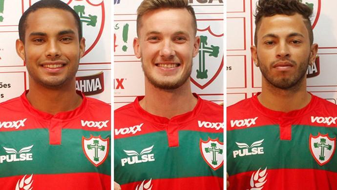 Montagem Portuguesa 3 jogadores (Foto: Globoesporte.com)