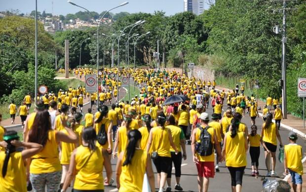 Volta das Nações 2012 em Campo Grande, MS (Foto: Leandro Abreu/Globoesporte.com)