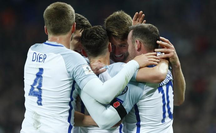 Wembley para Inglaterra x Escócia (Foto: Reuters)
