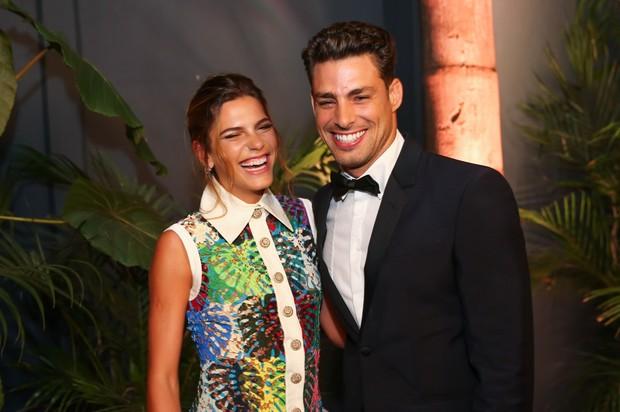 Cauã Reymond e Mariana Goldfarb (Foto: Manuela Scarpa/Brazil News)