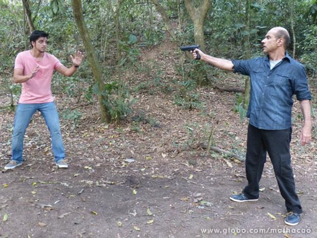 COMO ASSIM???? O Bruno vai ser preso, glr??? TENSO! (Foto: Malhação / Tv Globo)