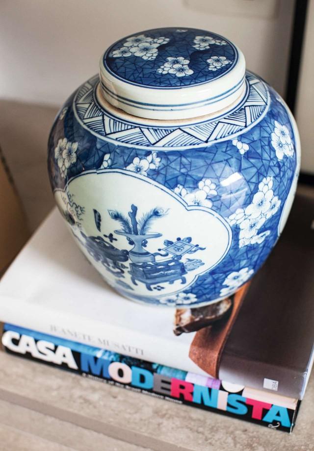 Cachepô da 6F, comprado em leilão da feira Modernos Eternos, no ano passado (Foto: Divulgação)