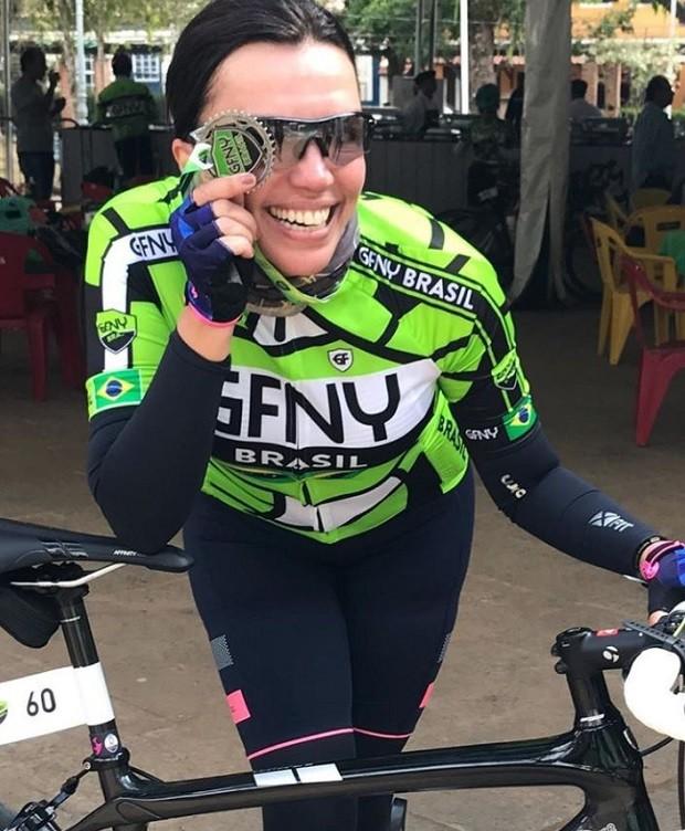Ana Paula Araújo revela que é triatleta  (Foto: Reprodução Instagram)