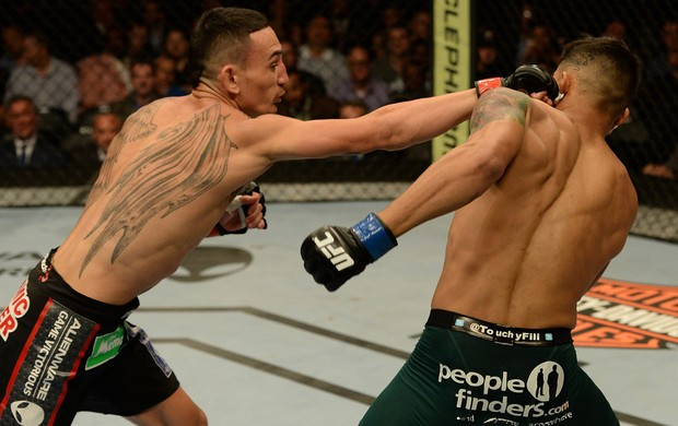 MMA - UFC 172 - Max Holloway x Andre Fili (Foto: Getty Images)
