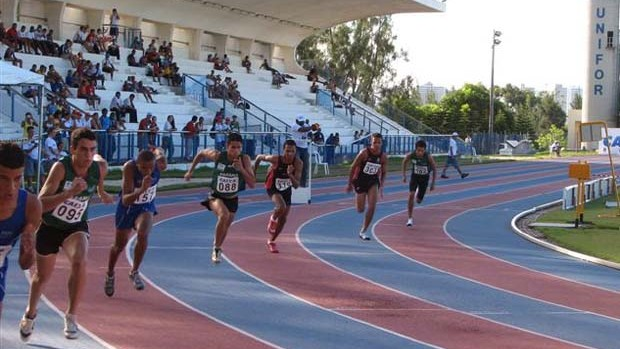 Est&#225;dio de Atletismo Unifor GP de Fortaleza (Foto: Divulga&#231;&#227;o / CBAt)