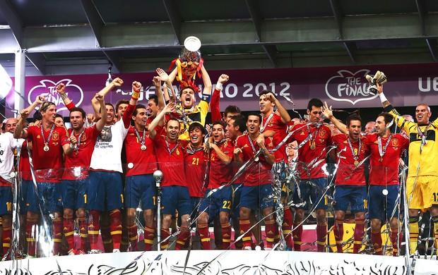 A Espanha conquista o título da Eurocopa (Foto: Getty Images)